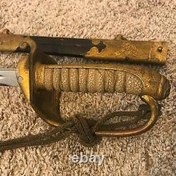 WWII Era Imperial Japanese Officer's Parade Sword