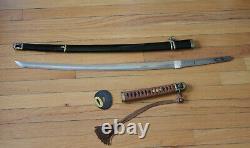 WWII Imperial Japan Navy Shin Gunto /Kai Gunto sword