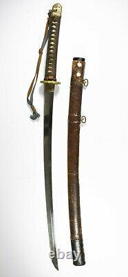 WWII Imperial Japan Shin Gunto Samurai Katana signed Kiyonobu