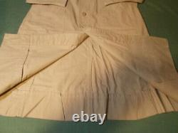 WWII Imperial Japanese Army/Navy Tropical Jacket, Unusual Open Pockets, Poncho