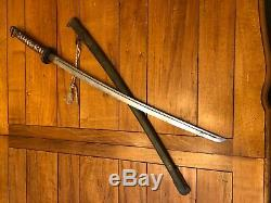 WWII Imperial Japanese Army Type 95 NCO Sword