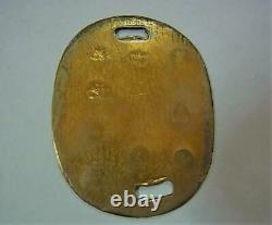 WWII Imperial Japanese Army dog tag identification Military Antique Free Shippin