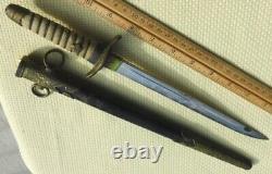 WWII Imperial Japanese Japan Navy Officer Parade Dress Dagger Knife Original