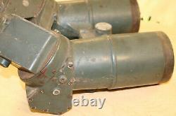 WWII Imperial Japanese Navy BIG EYE 7.5x8 Binoculars LOOK FREE SHIPPING