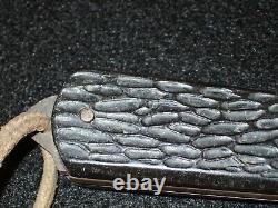 WWII Imperial Japanese Navy IJN Sailor Pocket Utility Knife & Lanyard Rare Orig