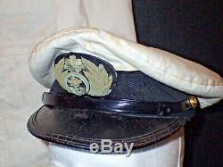 WWII Imperial Japanese Navy Pilots Tropical White Uniform & Hat Oroko Aerodome