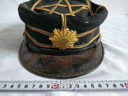 WWII Japanese Military Imperial Soldier's Dress uniform Hat Cap Boxed set-d0714
