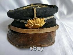 WWII Japanese Military Imperial Soldier's Dress uniform Hat Cap -c0617