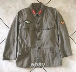 WWII WW2 Japanese Imperial Army Tunic Summer Weight with Pilot insignia Kamikaze