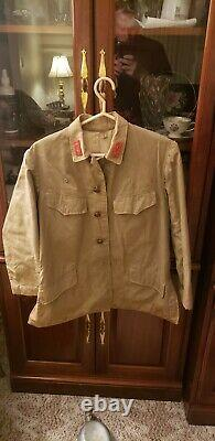 WWII WW2 Japanese Tunic, Army, Imperial, Officer, Original, Jacket, Coat, Military, War