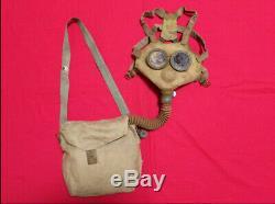 World war 2 WW II original imperial japanese army gas mask type 99 military