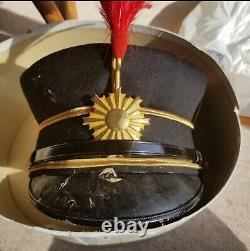 World war 2 wwII original japanese imperial Officer cap hat military Kamikaze
