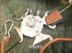 World war2 wwII original imperial Japanese parachute harness type97 made in 1939