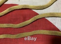 Ww2 Imperial Army. Japanese sword strap, Cloth hata original, 4 item set