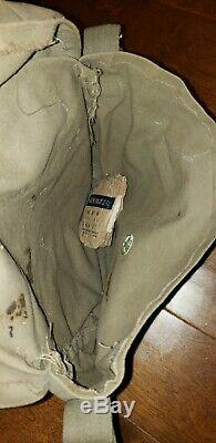 Ww2 Japanese Pilot's Bag Collectible Airforce Imperial Japan Antique Item