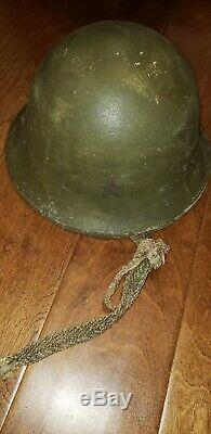Ww2 Wwii Imperial Japanese Army Helmet Japan Collectible Antique