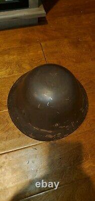 Ww2 Wwii Imperial Japanese Army Helmet Japan Collectible Antique Signed