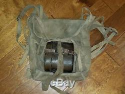 Wwii Imperial Japanese Army Canvas Field Pack Haversack Complete Collectible Old