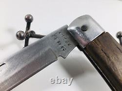 Wwii Imperial Japanese Navy Signed Rope Knife Bosun Boatswain Ija