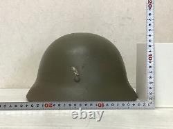 Y1612 Imperial Japan Army military iron helmet Japanese WW2 vintage