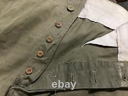 Y2593 Imperial Japan Army Type 3 Military Uniform Trousers Japanese WW2 vintage